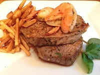 Herb Crusted Steak and Shrimp copy