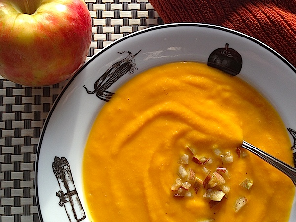 Butternut Squash & Apple Soup copy